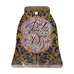 Panic! At The Disco Bell Ornament (two Sides) by Onesevenart