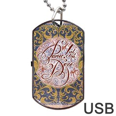 Panic! At The Disco Dog Tag Usb Flash (two Sides) by Onesevenart