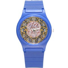 Panic! At The Disco Round Plastic Sport Watch (s) by Onesevenart