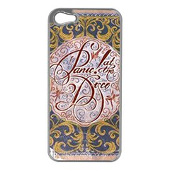Panic! At The Disco Apple Iphone 5 Case (silver) by Onesevenart