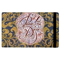 Panic! At The Disco Apple Ipad 3/4 Flip Case by Onesevenart