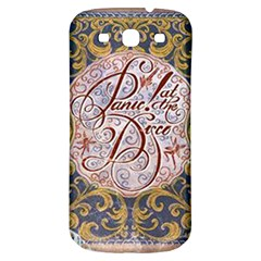 Panic! At The Disco Samsung Galaxy S3 S Iii Classic Hardshell Back Case by Onesevenart