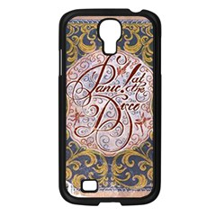Panic! At The Disco Samsung Galaxy S4 I9500/ I9505 Case (black) by Onesevenart