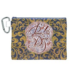Panic! At The Disco Canvas Cosmetic Bag (xl) by Onesevenart