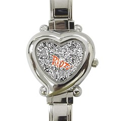 Paramore Is An American Rock Band Heart Italian Charm Watch by Onesevenart
