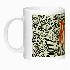 Paramore Is An American Rock Band Night Luminous Mugs by Onesevenart
