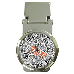 Paramore Is An American Rock Band Money Clip Watches by Onesevenart