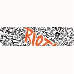 Paramore Is An American Rock Band Large Bar Mats by Onesevenart