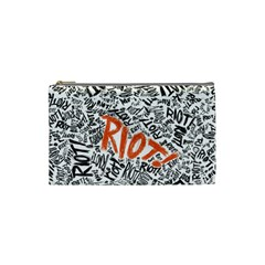 Paramore Is An American Rock Band Cosmetic Bag (small)  by Onesevenart