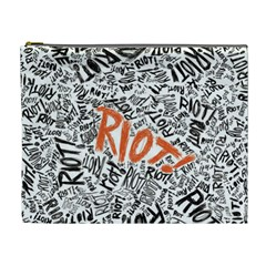 Paramore Is An American Rock Band Cosmetic Bag (xl) by Onesevenart