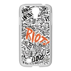 Paramore Is An American Rock Band Samsung Galaxy S4 I9500/ I9505 Case (white) by Onesevenart