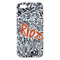 Paramore Is An American Rock Band Iphone 5s/ Se Premium Hardshell Case by Onesevenart