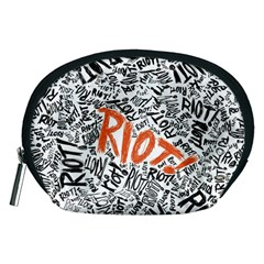 Paramore Is An American Rock Band Accessory Pouches (medium)  by Onesevenart