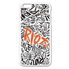 Paramore Is An American Rock Band Apple Iphone 6 Plus/6s Plus Enamel White Case by Onesevenart