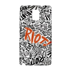Paramore Is An American Rock Band Samsung Galaxy Note 4 Hardshell Case by Onesevenart