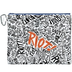 Paramore Is An American Rock Band Canvas Cosmetic Bag (xxxl) by Onesevenart