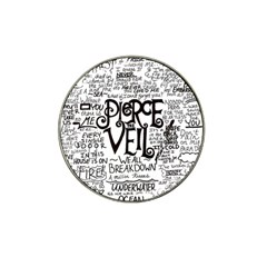 Pierce The Veil Music Band Group Fabric Art Cloth Poster Hat Clip Ball Marker by Onesevenart