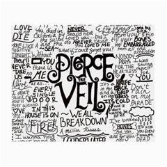 Pierce The Veil Music Band Group Fabric Art Cloth Poster Small Glasses Cloth (2 Side) by Onesevenart