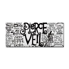 Pierce The Veil Music Band Group Fabric Art Cloth Poster Cosmetic Storage Cases by Onesevenart