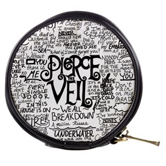 Pierce The Veil Music Band Group Fabric Art Cloth Poster Mini Makeup Bags by Onesevenart