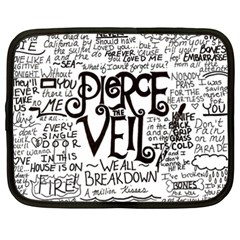 Pierce The Veil Music Band Group Fabric Art Cloth Poster Netbook Case (xxl)  by Onesevenart