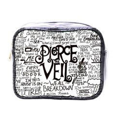 Pierce The Veil Music Band Group Fabric Art Cloth Poster Mini Toiletries Bags by Onesevenart