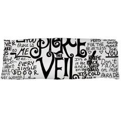 Pierce The Veil Music Band Group Fabric Art Cloth Poster Body Pillow Case (dakimakura) by Onesevenart