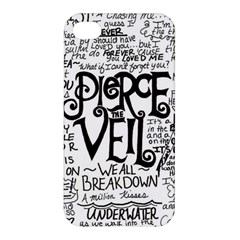 Pierce The Veil Music Band Group Fabric Art Cloth Poster Apple Iphone 4/4s Premium Hardshell Case by Onesevenart