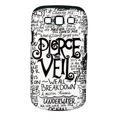 Pierce The Veil Music Band Group Fabric Art Cloth Poster Samsung Galaxy S Iii Classic Hardshell Case (pc+silicone) by Onesevenart