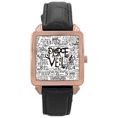 Pierce The Veil Music Band Group Fabric Art Cloth Poster Rose Gold Leather Watch  by Onesevenart