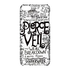 Pierce The Veil Music Band Group Fabric Art Cloth Poster Apple Ipod Touch 5 Hardshell Case With Stand by Onesevenart