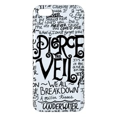 Pierce The Veil Music Band Group Fabric Art Cloth Poster Apple Iphone 5 Premium Hardshell Case by Onesevenart