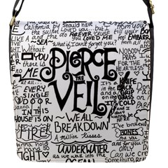 Pierce The Veil Music Band Group Fabric Art Cloth Poster Flap Messenger Bag (s) by Onesevenart