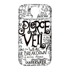 Pierce The Veil Music Band Group Fabric Art Cloth Poster Samsung Galaxy S4 Classic Hardshell Case (pc+silicone) by Onesevenart