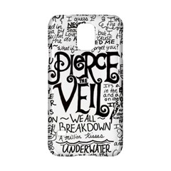 Pierce The Veil Music Band Group Fabric Art Cloth Poster Samsung Galaxy S5 Hardshell Case  by Onesevenart