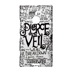 Pierce The Veil Music Band Group Fabric Art Cloth Poster Nokia Lumia 1520 by Onesevenart