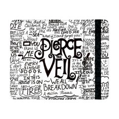 Pierce The Veil Music Band Group Fabric Art Cloth Poster Samsung Galaxy Tab Pro 8 4  Flip Case by Onesevenart
