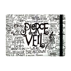 Pierce The Veil Music Band Group Fabric Art Cloth Poster Ipad Mini 2 Flip Cases by Onesevenart