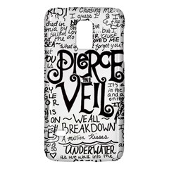 Pierce The Veil Music Band Group Fabric Art Cloth Poster Galaxy S5 Mini by Onesevenart