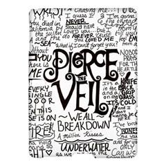 Pierce The Veil Music Band Group Fabric Art Cloth Poster Samsung Galaxy Tab S (10 5 ) Hardshell Case  by Onesevenart