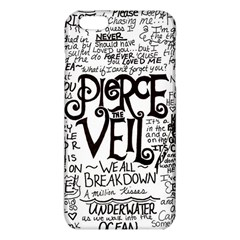 Pierce The Veil Music Band Group Fabric Art Cloth Poster Iphone 6 Plus/6s Plus Tpu Case by Onesevenart