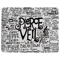 Pierce The Veil Music Band Group Fabric Art Cloth Poster Jigsaw Puzzle Photo Stand (rectangular) by Onesevenart