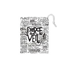 Pierce The Veil Music Band Group Fabric Art Cloth Poster Drawstring Pouches (xs)  by Onesevenart