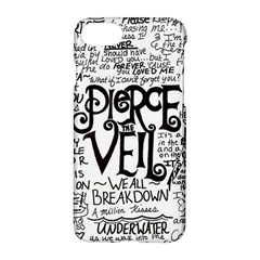 Pierce The Veil Music Band Group Fabric Art Cloth Poster Apple Iphone 7 Hardshell Case by Onesevenart