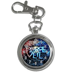 Pierce The Veil Quote Galaxy Nebula Key Chain Watches by Onesevenart