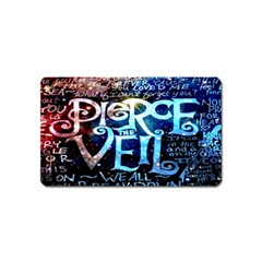 Pierce The Veil Quote Galaxy Nebula Magnet (name Card) by Onesevenart
