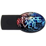 Pierce The Veil Quote Galaxy Nebula USB Flash Drive Oval (4 GB)