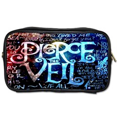Pierce The Veil Quote Galaxy Nebula Toiletries Bags by Onesevenart