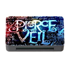Pierce The Veil Quote Galaxy Nebula Memory Card Reader With Cf by Onesevenart