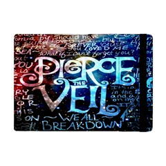 Pierce The Veil Quote Galaxy Nebula Apple Ipad Mini Flip Case by Onesevenart